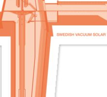 Swedish Vacuum Solar Telescope Sticker