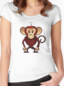 Monkey Madness Women's Fitted Scoop T-Shirt