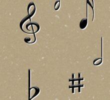 Music Notes & Symbols Sticker