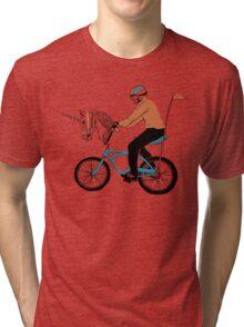 Unicycle Tri-blend T-Shirt