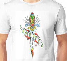 Tattoo Dagger Unisex T-Shirt