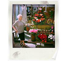 the florist girl Poster