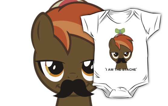 I am the Stache by PinkiexDash