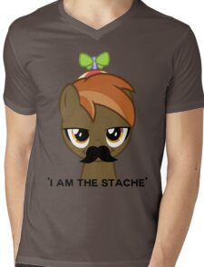 I am the Stache Mens V-Neck T-Shirt