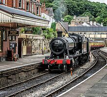 Steam Loco by Adrian Evans