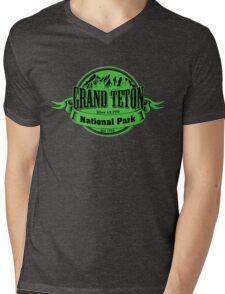 Grand Teton National Park, Wyoming Mens V-Neck T-Shirt