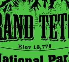 Grand Teton National Park, Wyoming Sticker