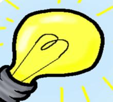 I got an Idea! an awful idea! a wonderful awful idea! Sticker