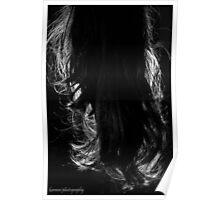 Back&Night - Black&White Poster