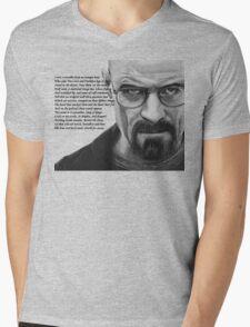Breaking Bad - Walt Ozymandias Mens V-Neck T-Shirt
