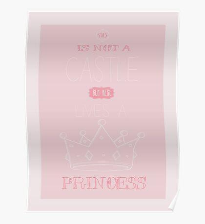 Princess print art Poster