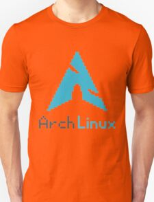Pixelated ArchLinux Unisex T-Shirt