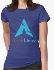 Pixelated ArchLinux Womens Fitted T-Shirt