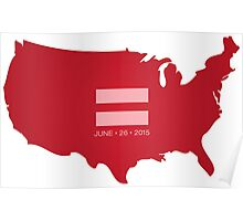 Equal Marriage America Poster