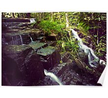 Wilderness WaterFalls Poster