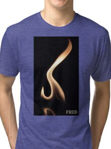 Fire on Glass - FredPereiraStudios.com_Page_04 Tri-blend T-Shirt