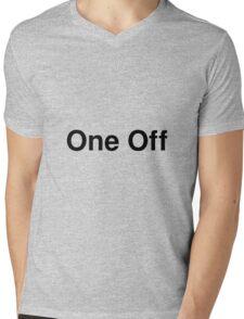 One Off Mens V-Neck T-Shirt