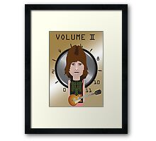 This Is Spinal Tap. Nigel Tufnel. Framed Print
