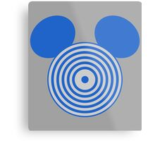 Grid Mouse 1.0 Metal Print