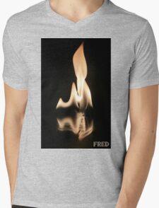 Fire on Glass - FredPereiraStudios.com_Page_15 Mens V-Neck T-Shirt