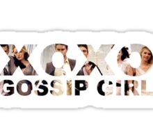 xoxo, Gossip Girl Sticker