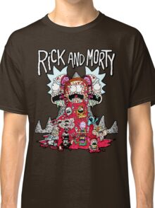 Rick And Morty Zombie Classic T-Shirt