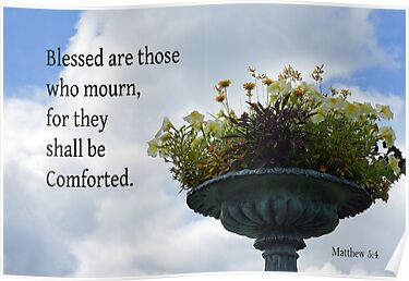 Shall be Comforted ~ Matthew 5:4 by Robin Clifton