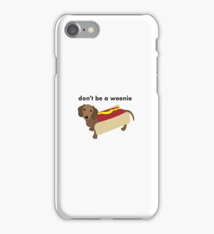 wiener dog iPhone Case/Skin