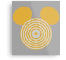 Grid Mouse 1.0 (Clu Variant) Metal Print