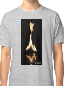 Fire on Glass - FredPereiraStudios.com_Page_26 Classic T-Shirt
