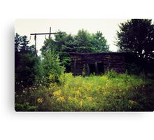 Old Shack Canvas Print