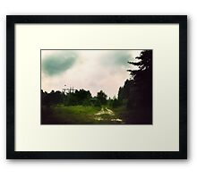 Stormin Out Framed Print