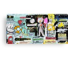 My graffiti - my street Canvas Print