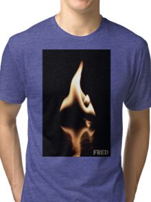 Fire on Glass - FredPereiraStudios.com_Page_28 Tri-blend T-Shirt