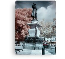 John Howard statue in Infrared Canvas Print