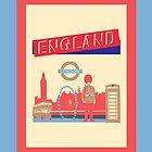 London England UK by famenxt