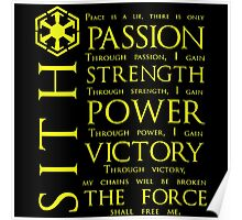 SITH Quotes Poster