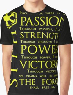 SITH Quotes Graphic T-Shirt