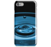 iPhone case blue water droplet iPhone Case/Skin