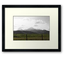 Just Nature Saying Hello Framed Print