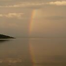 Isle of Rum - silver rainbow by lukasdf