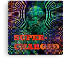 super charged Canvas Print