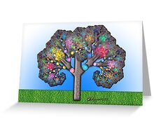 Fractal Tree Greeting Card