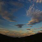 Isle of Rum - magical sky by lukasdf