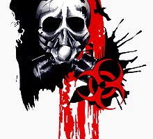 Polka Trash Holocaust Skull  by inketteroulette