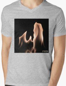 Fire on Glass - FredPereiraStudios.com_Page_02 Mens V-Neck T-Shirt
