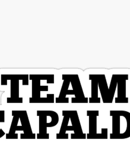 Team Capaldi Sticker