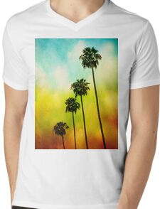 4 Palms Mens V-Neck T-Shirt