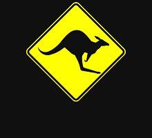 Caution Kangaroo - Black T Shirt Unisex T-Shirt