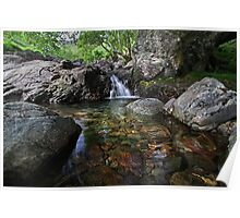 Elements Series.Crystal Pool.Stickle Ghyll, Great Langdale Poster